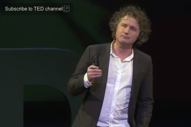 TED Talk Screenshot