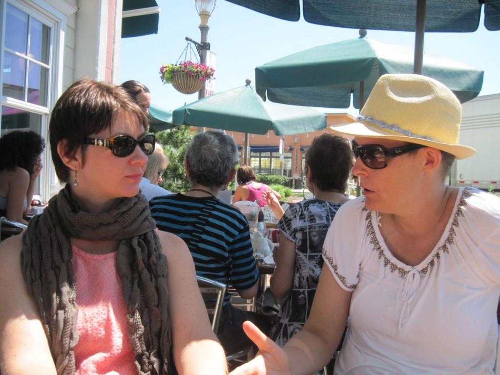 Gayle Sulik and Rachel Cheetham Moro, 2011