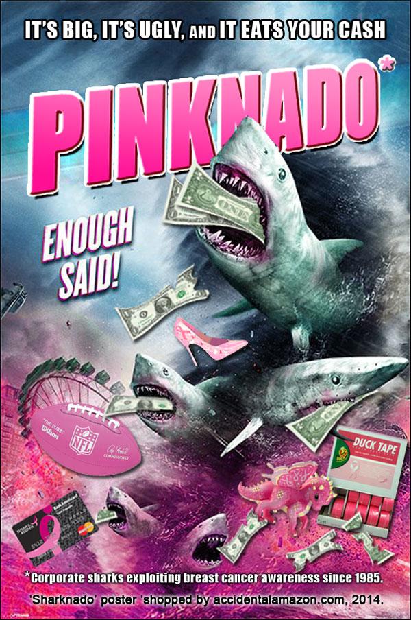 Pinknado-sharks