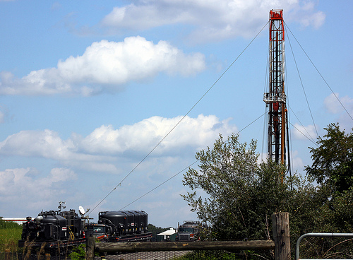 Shale Gas Drilling Rig in PA