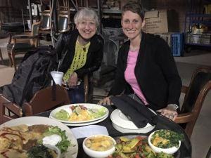 CJ & Me, dining in the cellar