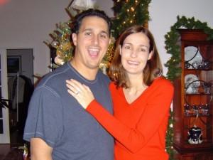 Anthony and Rachel, Christmas 2003