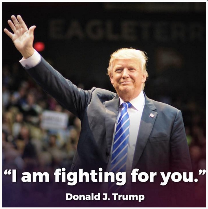 """Fighting For You"" Screenshot Trump-Pence Gallery"